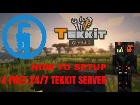 HOW TO MAKE A FREE 24/7 TEKKIT SERVER!! [2017] [1.7/1.8/1.9/1.11/1.12] [LavaRushHD]