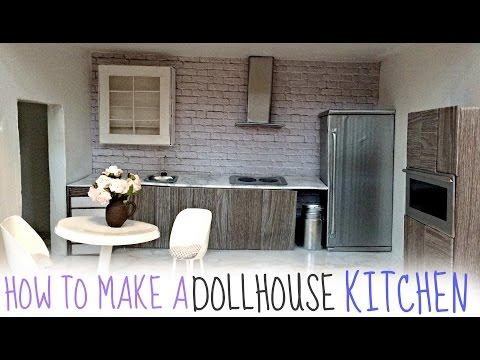 diy: dollhouse KITCHEN