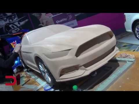 Clay Modeling Demo: 2015 Ford Mustang GT on Everyman Driver