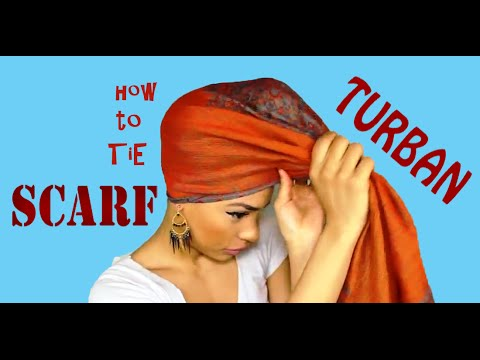 How to Tie a Scarf on your Head: Casual and Formal Styles