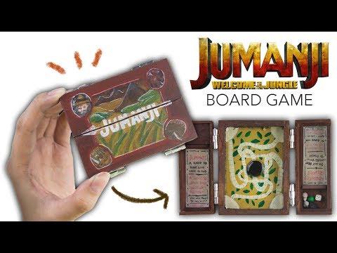 DIY JUMANJI BOARD GAME!?
