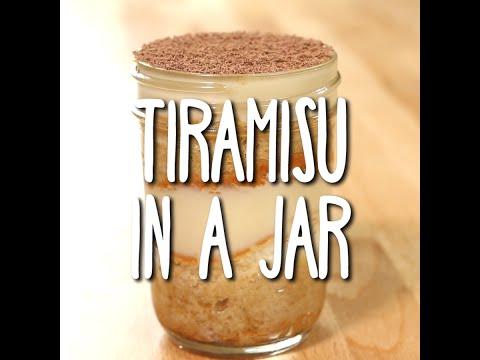 Tiramisu in a Jar