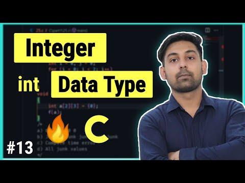 #8.3 Integer Data Types | In Hindi By Nirbhay Kauhsik