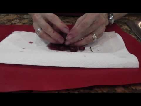 How to Pit Cherries for Pie