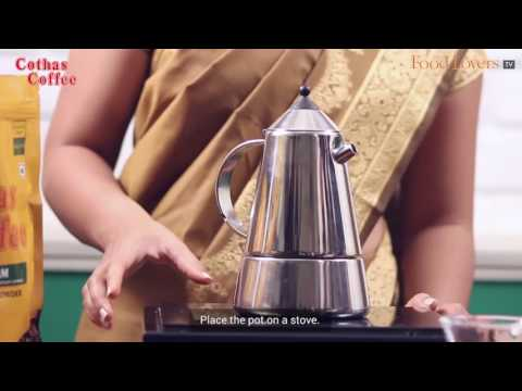 Brewing Coffee using a Stove Top Filter