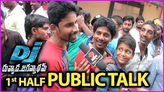 Duvvada Jagannadham Movie Review/Public Talk | Fans Reaction | First Half | Fans Response
