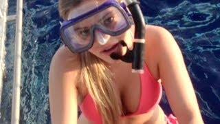 DIVING WITH SHARKS!   iJustine