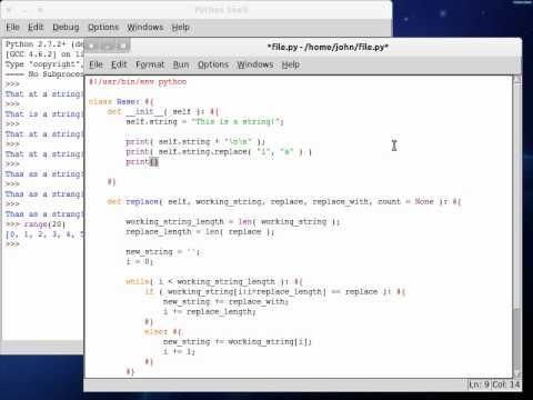Python 61 String Replace