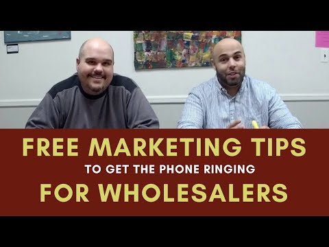Chat with Chatto - 003 Marketing Tips for Wholesaling Real Estate