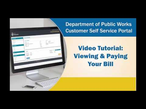 How to Access Your Water Bill Online