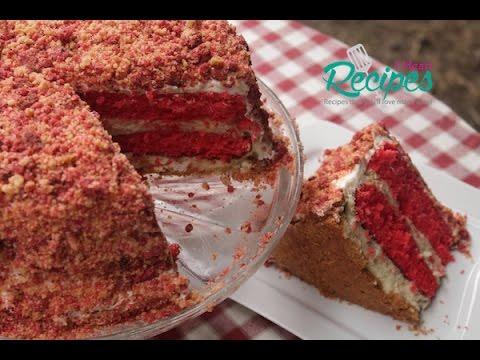 Strawberry Shortcake Cheesecake Recipe - I Heart Recipes