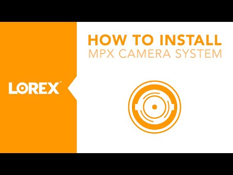 How to Install the LBV2561U Wireless Security Camera From Lorex