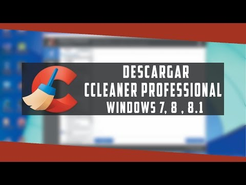 Descargar CCleaner Professional //Windows 7 , 8 , 8.1// 2015 // HD