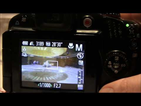 Canon Powershot SX40 HS Tutorial: Step Thirty Three - Using shutter speed to capture action