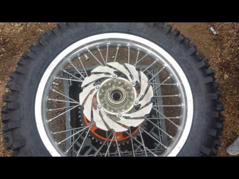 Ktm wheel bearing replacement