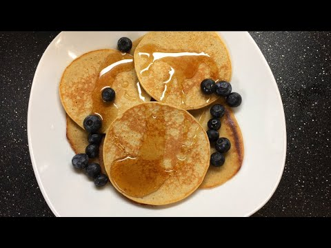 How to make an easy Banana & Oats Pancake