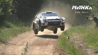 Mikkelsen / Jaeger | Tests | WRC Rally Poland 2016 | VW Polo WRC 2017