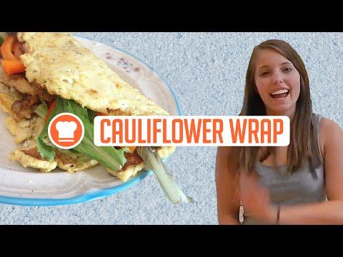 Cauliflower Wrap