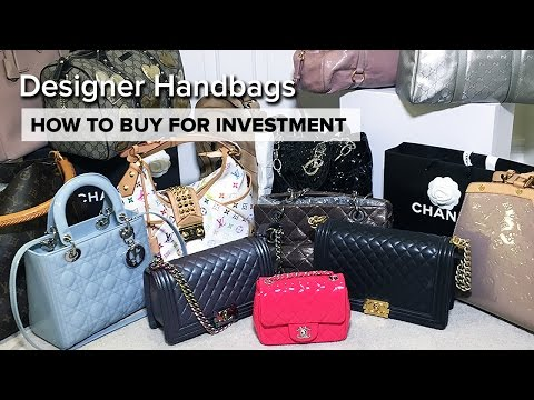 My ENTIRE Handbag Collection   How To Buy For Investment   Chanel, Dior,  Louis b805f5b060
