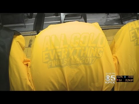 Oracle Arena Preps For Game 5 Of NBA Finals