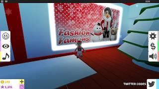 Fashion Famous Codes 2018 Roblox