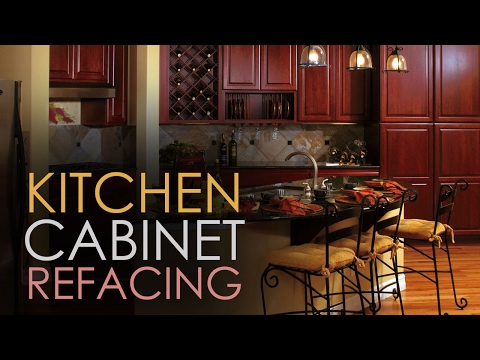 Kitchen Cabinet Refacing - Ideas DIY - Video Guide