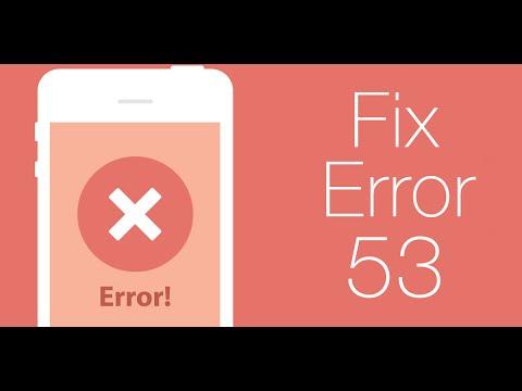 How to Fix Error 53 iPhone 6 / 6 Plus via iTunes