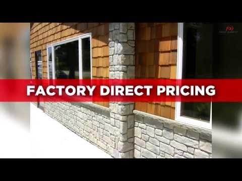 Best Faux Stone Panels And Faux Brick Panels - FauxDirect.Com