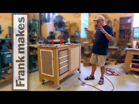 Woodshop Air Filter Cart