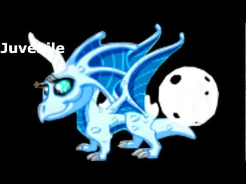DragonVale How to breed a Blue Moon Dragon