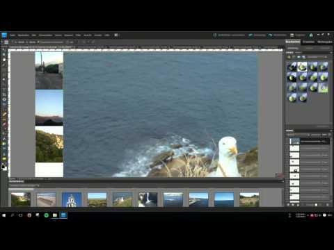 Einfache  Collage erstellen (Tutorial deutsch) I Photoshopkurs Teil 1 I Edu Reson