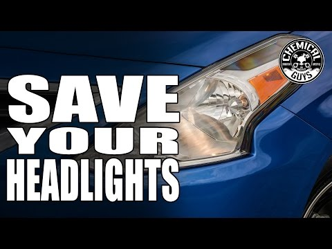 How To Prevent Yellow Headlights - Chemical Guys JetSeal