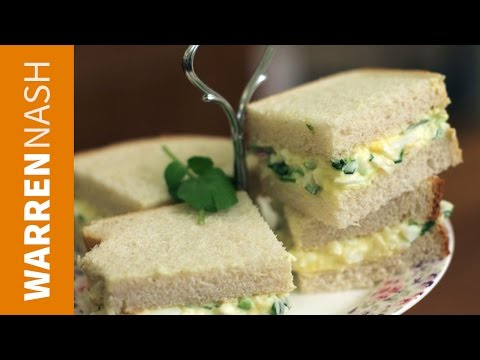 Egg Mayo Sandwich Recipe - Back to Basics - Recipes by Warren Nash
