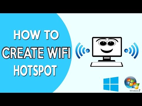 How to create hotspot in windows 10 (how to create wifi hotspot in windows 10 pc)