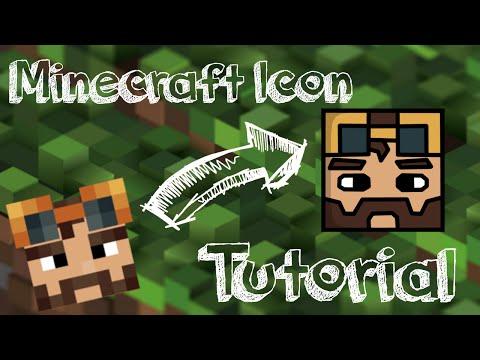Tutorial: Easy minecraft cartoon icons (GIMP) (100% FREE)