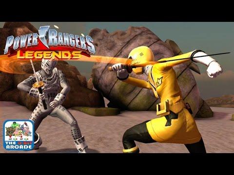 Power Rangers Legends - Yellow Ranger from Super Samurai (iOS Gameplay, Playthrough)