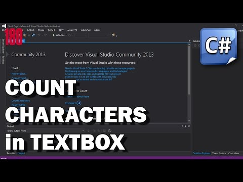 C# Count characters in Textbox