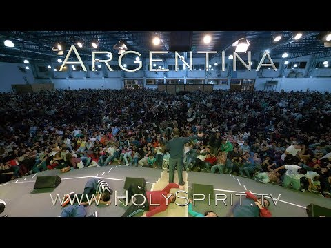 Beautiful Holy Spirit manifestations and miracles in Quilmes, Argentina!!!