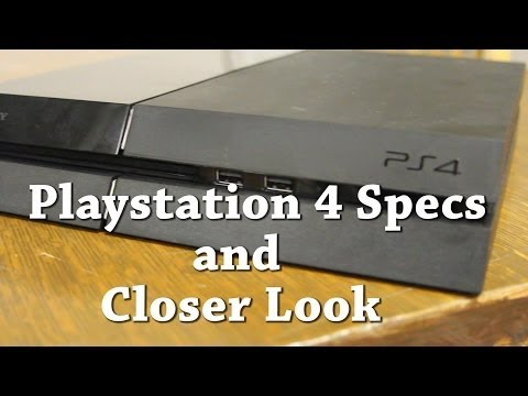 Playstation 4 Specs and Closer Look