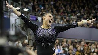 Highlights Katelyn Ohashi Kyla Ross Perfect 10s Lead Ucla Womens Gymnastics To Victory Over