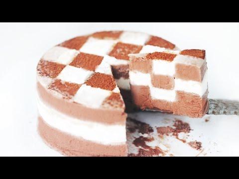 Checkerboard Ice Cream Cake 체크 아이스크림 케이크
