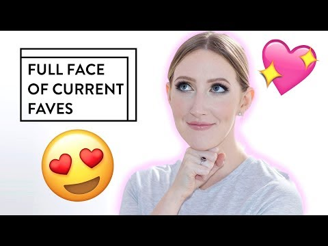 YAY! Chatty Full Face of Current Favourites! | Sharon Farrell
