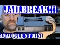 Analogue NT mini unbox review and jailbreak NES FPGA Kevtris