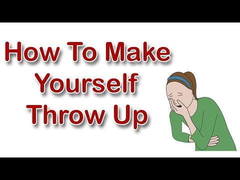 How To Make Yourself Throw Up - 5 Simple DIY Tips To Make Yourself Throw Up