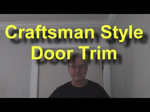 Craftsman Style  Door Trim Out