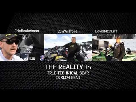 Snowmobile Hill Climb Racers Trust Klim Gear - on Motorcycle-Superstore.com TV