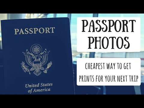 Passport Photo Apps | How to Save Money Before Your Next Trip