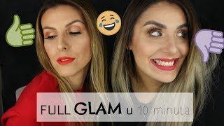 Download FULL GLAM makeup u 10 MINUTA💄 w Ivana Blažoti Mijoč ⌛ Video