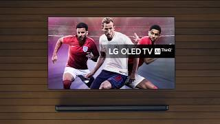 2018 LG OLED TV Advert | ThinQ AI TV | LIVE THE GAME