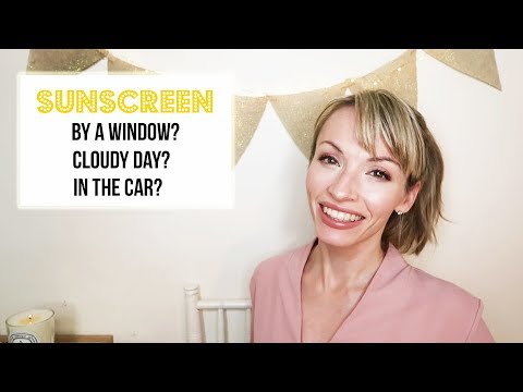 Dr. Meghan: Sunscreen--In The Car? By A Window?